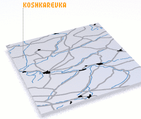 3d view of Koshkarëvka