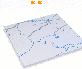 3d view of Valka