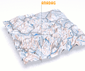 3d view of Anadağ
