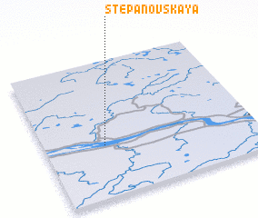3d view of Stepanovskaya