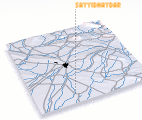 3d view of Sayyid Ḩaydar