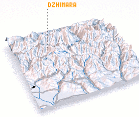 3d view of Dzhimara