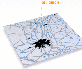 3d view of Al Jāmi'ah