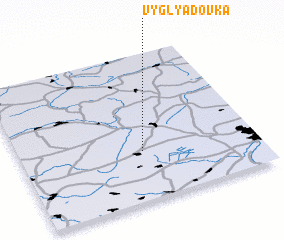 3d view of Vyglyadovka