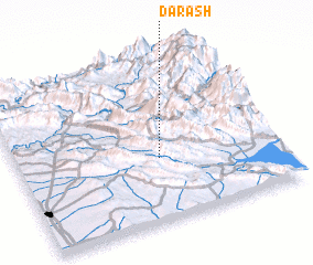 3d view of Darāsh