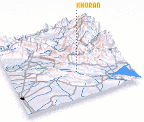 3d view of Khurān