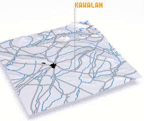 3d view of Kawālah
