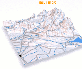 3d view of Kawl-ī Bas