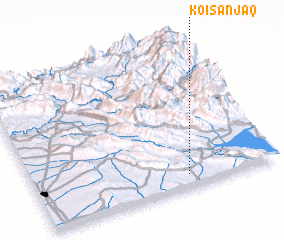 3d view of Koi Sanjaq