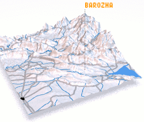 3d view of Barōzha