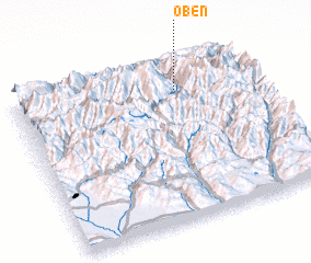 3d view of Oben