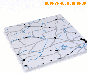 3d view of Novaya Aleksandrovka