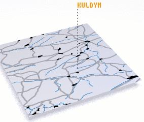 3d view of Kuldym
