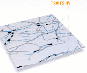 3d view of (( Troitskiy))