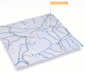 3d view of Andimaka