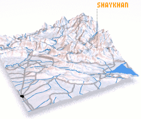 3d view of Shaykhān
