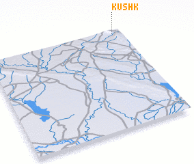3d view of Kūshk