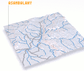 3d view of Asambalahy