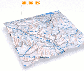 3d view of Abu Bakra