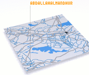 3d view of 'Abd Allāh al Mandhūr