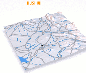 3d view of Kushūk