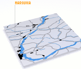 3d view of Marovka