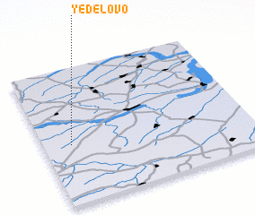 3d view of Yedelovo