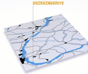 3d view of Vozrozhdeniye
