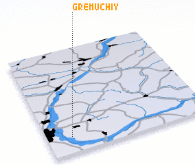 3d view of Gremuchiy