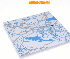 3d view of Aḩmad Shajrī