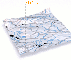 3d view of Xeyrimli