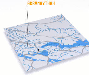 3d view of Ar Rumaythah