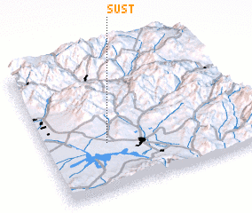 3d view of Süst