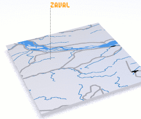 3d view of Zaval