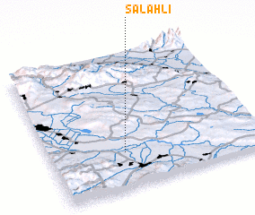 3d view of Salahlı