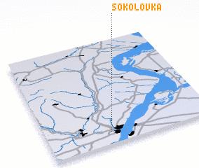 3d view of Sokolovka