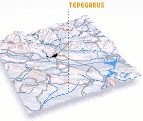 3d view of Tepe Garūs