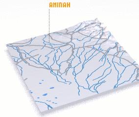 3d view of Āmīnah