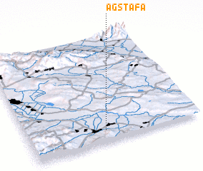 3d view of Ağstafa