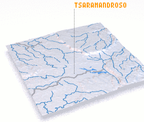 3d view of Tsaramandroso