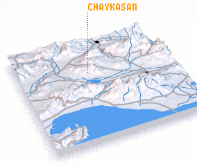 3d view of Chāy Kasan