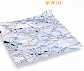 3d view of Göycǝli