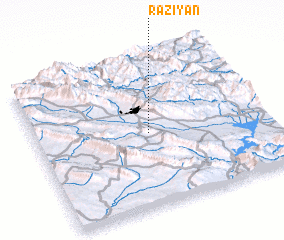 3d view of Rāziyān