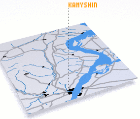 3d view of Kamyshin
