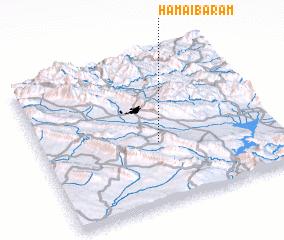 3d view of Hama-i Bārām