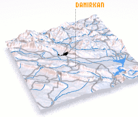 3d view of Damirkān
