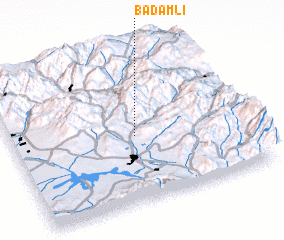 3d view of Badamlı