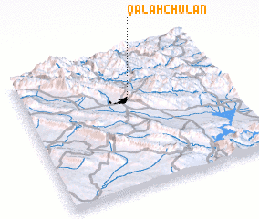 3d view of Qal'ah Chūlān