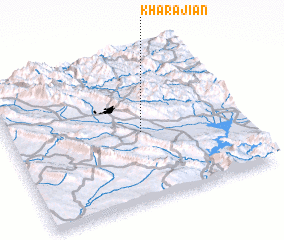 3d view of Kharājiān