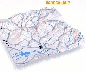 3d view of Kǝnd Şahbuz